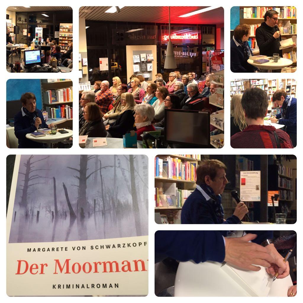 """Nachlese: Margarete von Schwarzkopf liest """"Der Moormann"""""""