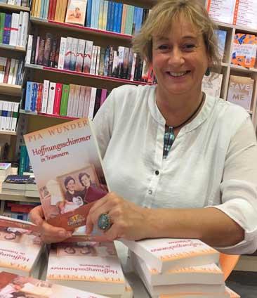Pia Wunder, Lesung in der Buchhandlung am Markt in Hennef