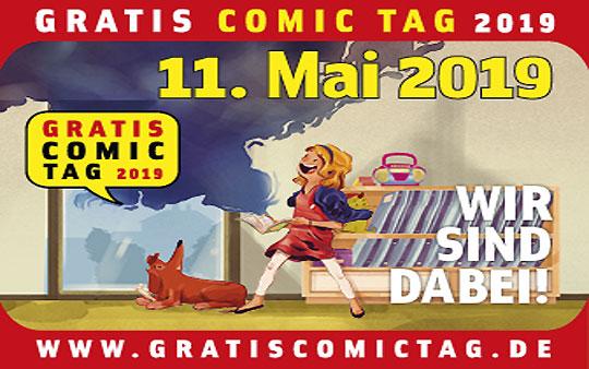GRATIS COMIC TAG 2019