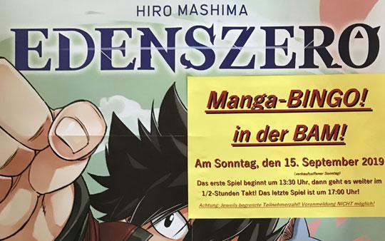 Manga-BINGO! bei uns in der Buchhandlung!
